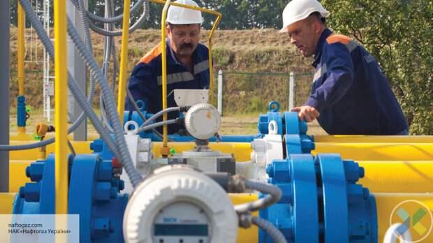 Украина за год снизила транзит газа почти на 40%