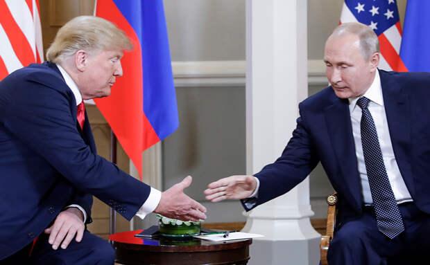 Вашингтон запросил встречу Трампа с Путиным