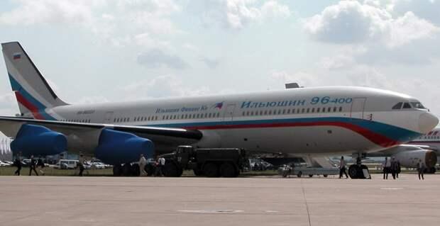 В России дан старт производству Ил-96-400М