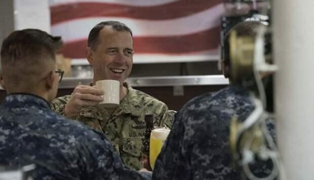 «Былобы замечательно»: глава штаба ВМС США заявил онеобходимости первыми ударить поРоссии