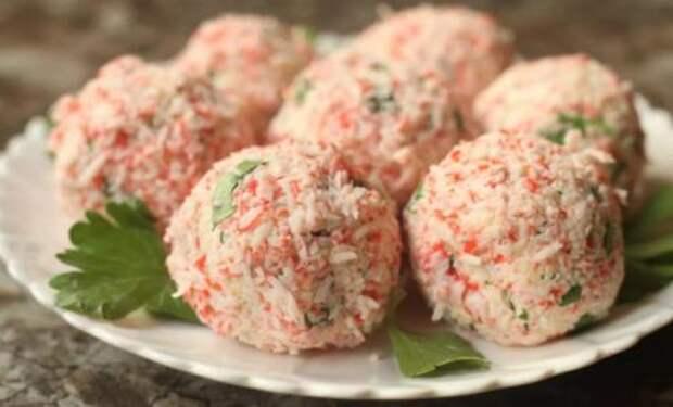 Моя любимая закуска на Новый Год из крабовых палочек: доступно и очень вкусно