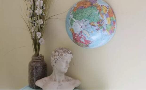 Переделка глобуса и чемодана