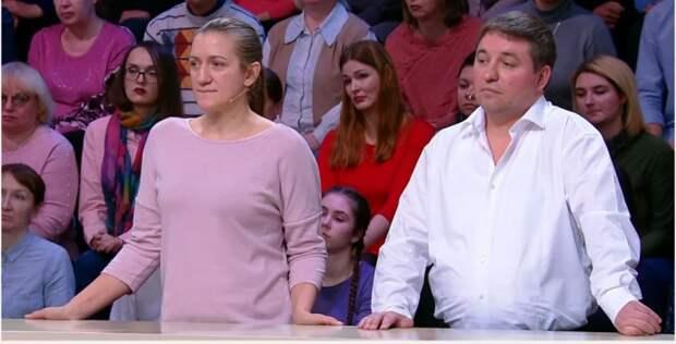 Муж привел жену на «Модный приговор», шантажируя ее изменами