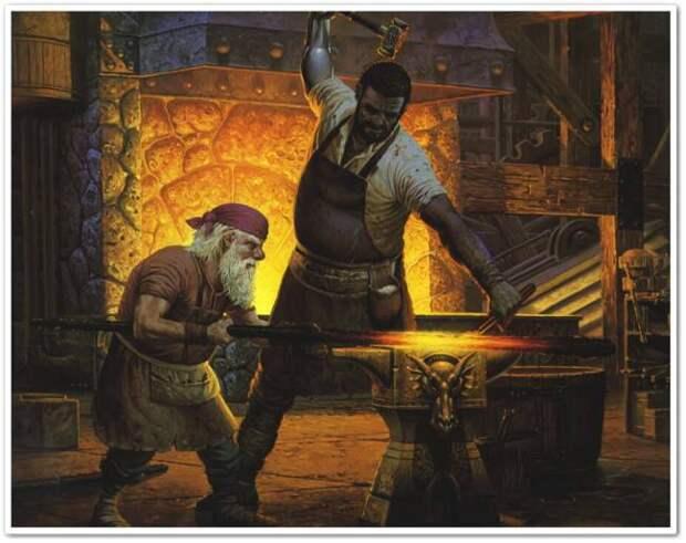 Нереальная древняя металлургия