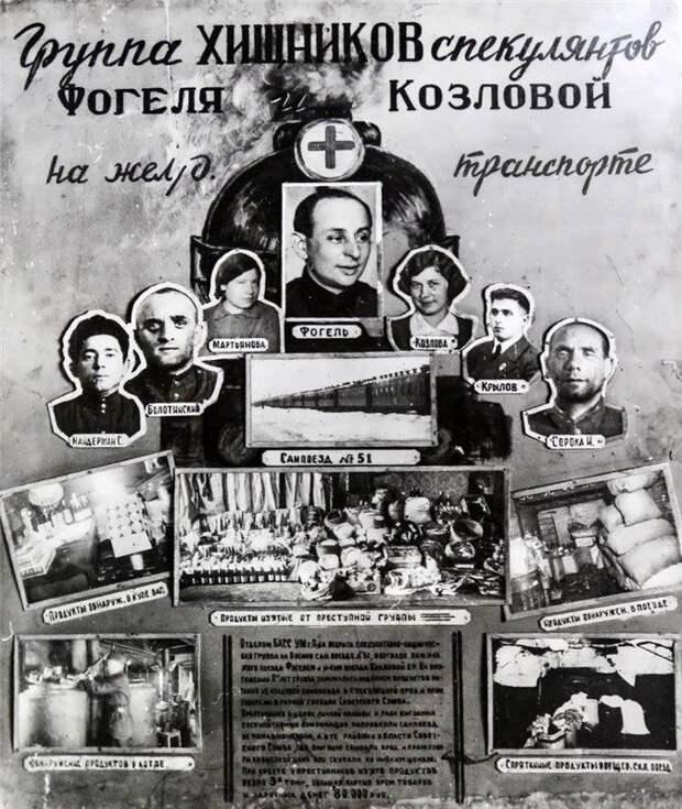 Паразиты в блокадном Ленинграде награбили многие миллионы