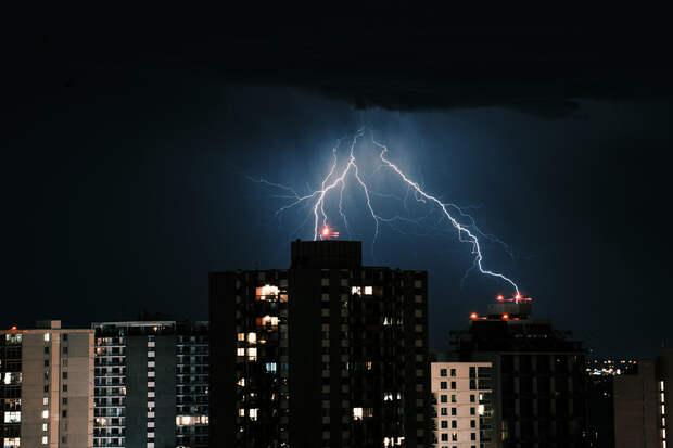 Молния убила женщину во Владимирской области