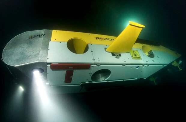 Беспилотный подводный аппарат, который задействовали для изучения кораблей. /Фото: privetsochi.ru
