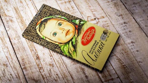 Кем была девочка с обертки шоколада «Аленка»