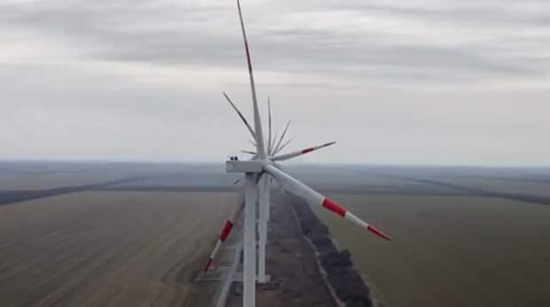 С1мая начнет работу Азовская ветроэлектростанция