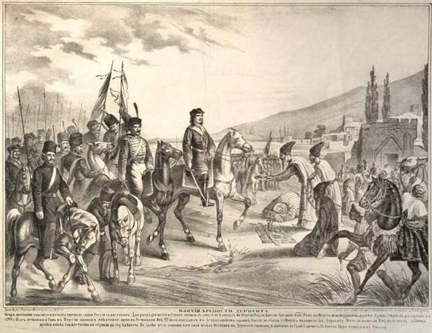 Грузинские цари умоляли принять их в подданство России