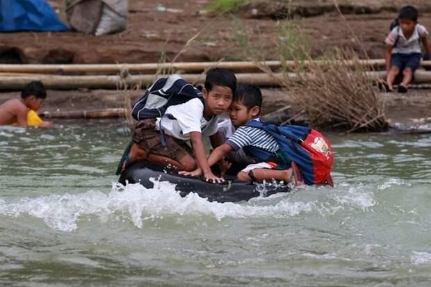 Опасные маршруты школьников из разных стран