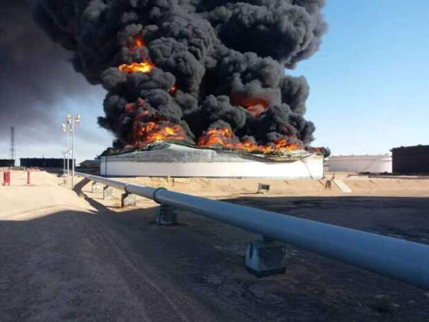 За Карабах в Сирии уничтожили турецкое хранилище с краденой нефтью