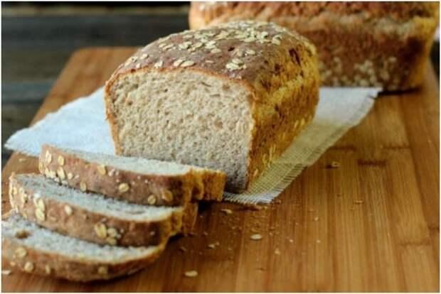Овсяный хлеб. \ Фото: pinterest.co.uk.
