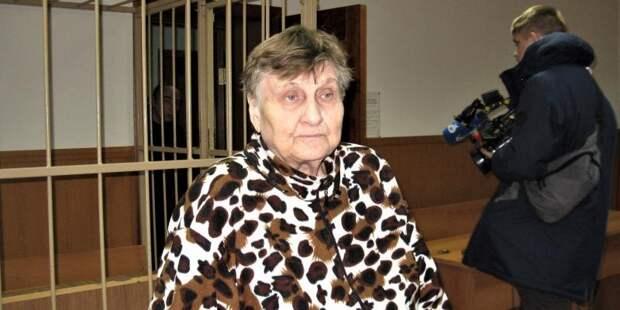 В Новгороде осудили 78-летнюю пенсионерку за нападение на росгвардейца