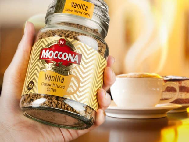 Depot WPF поработало над кофе Moccona