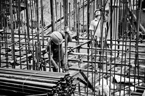 Работник, Стройку Метро, Строительство