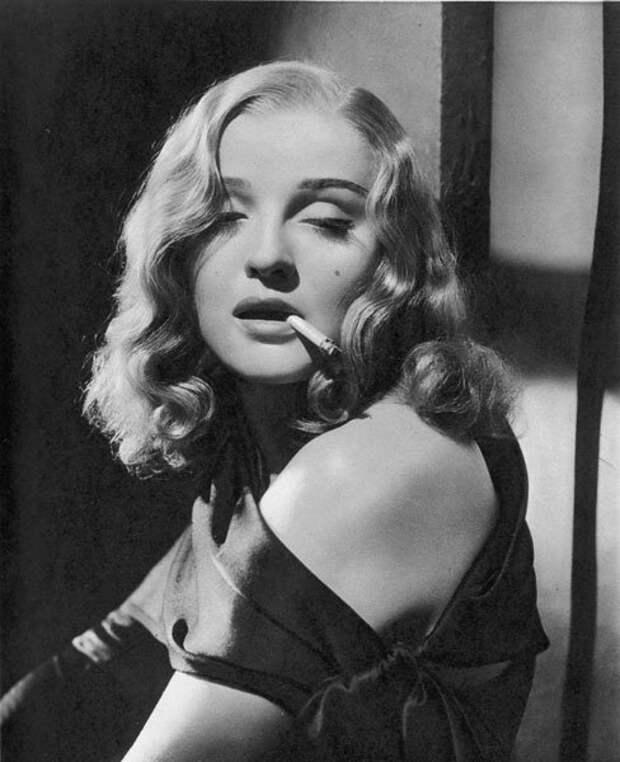 Нуар. Несмотря на попытки Голливуда и продюсера Голдвина, Анна никогда не была роковой красавицей.