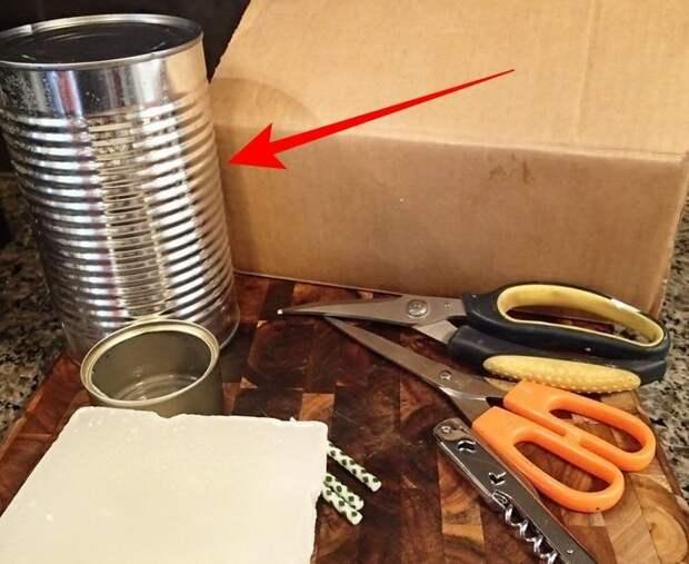 15 фантастических идей использования жестяных банок