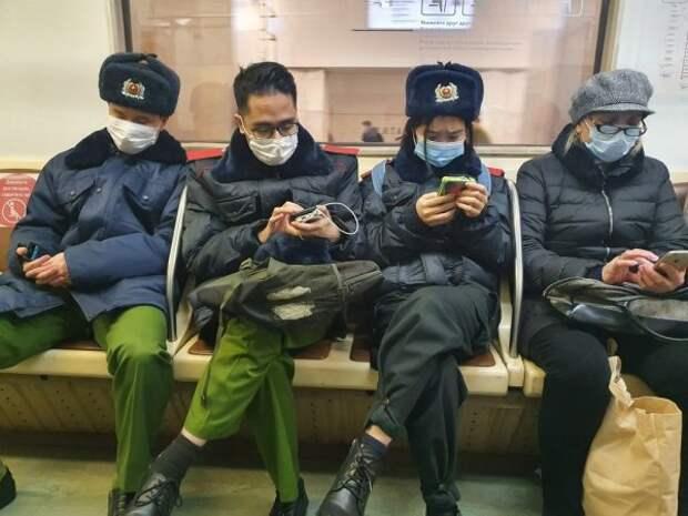 азиаты полицейские