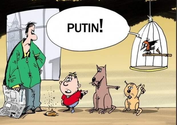 Страшилки о Путине перестают работать даже в США