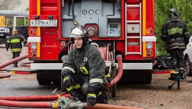Команда Подольска стала второй на первенстве по пожарно‑спасательному спорту