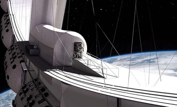 Как будет устроен первый отель на орбите Земли. Создатели показали проект