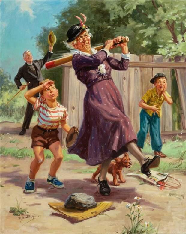 Как воспитывать внуков: пособие для бабушек от отца и сына Хинтермайстеров