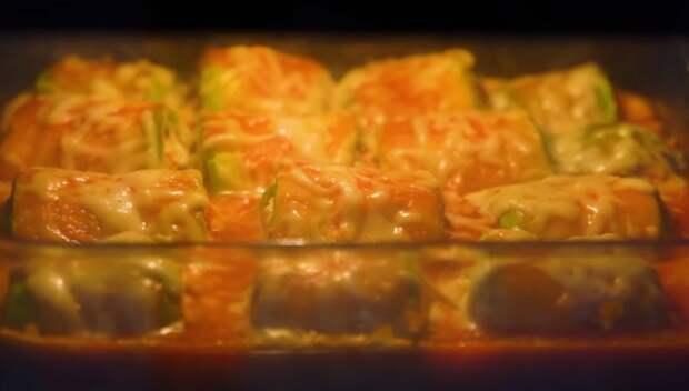 Для этого блюда с кабачками и мяса не надо! Вкусный и простой рецепт