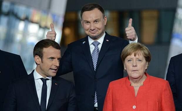 Ого, а это таки цимес! Все очень просто: вышвырните Францию из НАТО, за ней последует Германия. И пусть они создают свою Красную Армию ЕСССР!