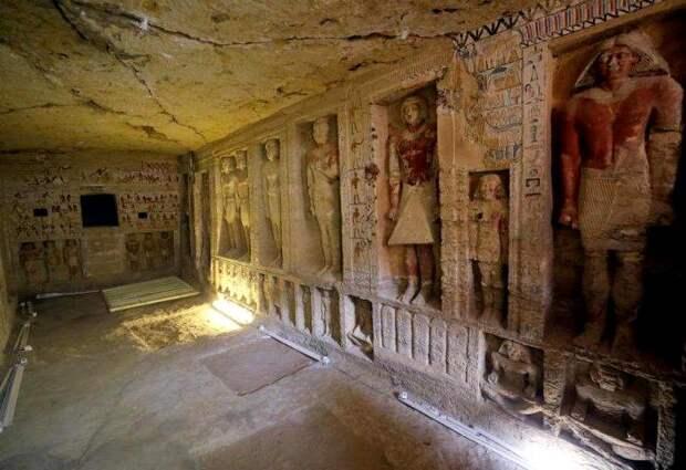 Находка, которую называют открытие десятилетия в Египте. /Фото: klevo.net