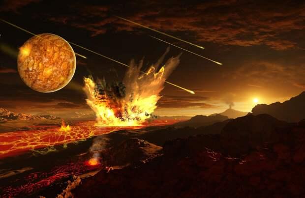 Тектонику плит на Земле мог запустить удар астероида
