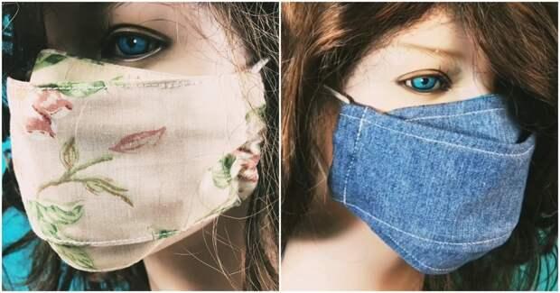 Защитись от вирусов — сшей многоразовую маску! Это просто!