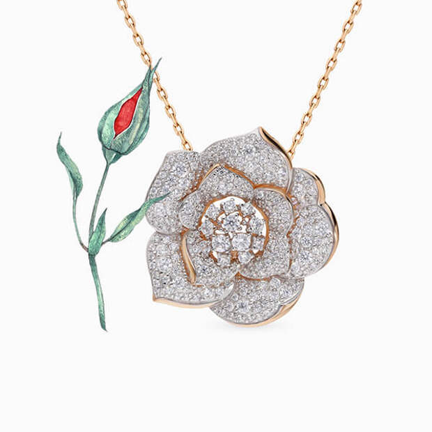 Тренд весны – сентиментальные украшения с розами, как в новой коллекции Dior Joaillerie