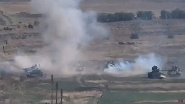 В Минобороны Армении заявили о гибели трех военных в результате столкновений с Азербайджаном