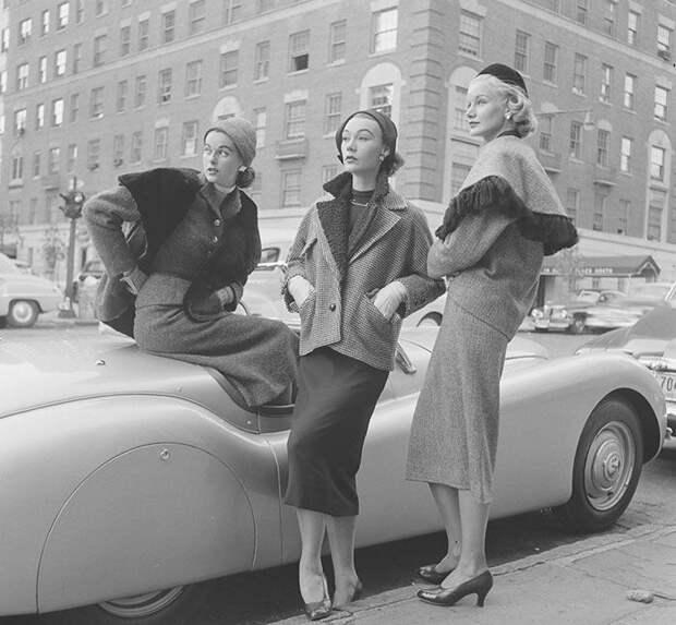 Женщины 40-х и 50-х годов на фото Нины Лин (37 фото)