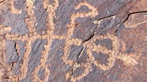 В Иране нашли древний рисунок, на котором изображено шестиногое существо