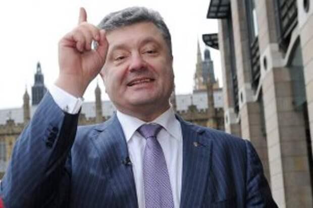 Гауляйтер Украины Порошенко пригрозил России войной