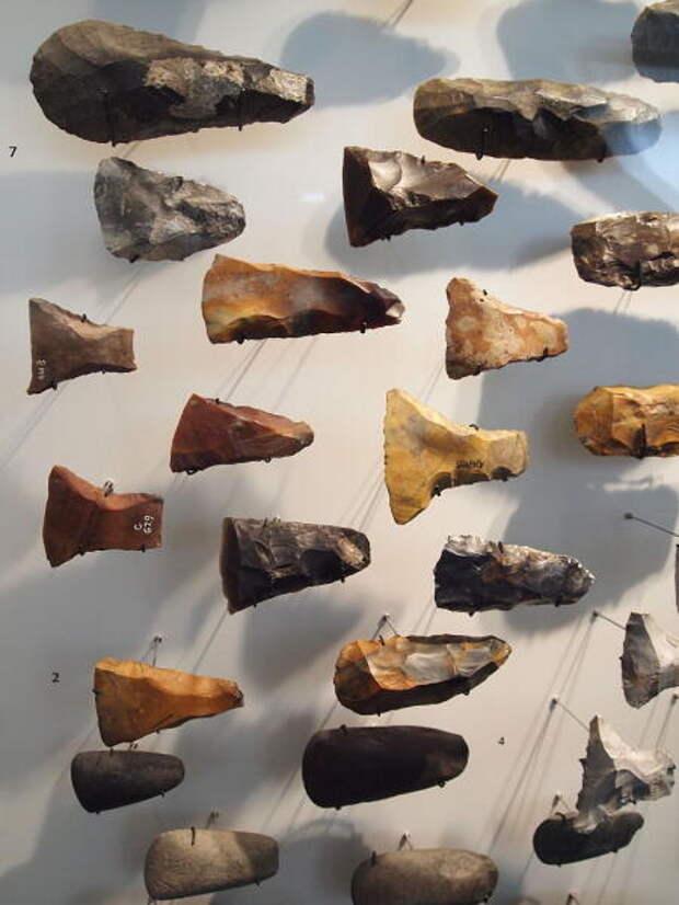 Каменные топоры, Датский национальный музей
