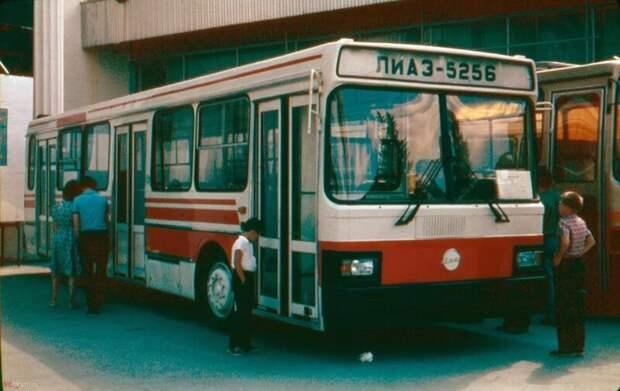 Модернизированный ЛиАЗ-5256 автобусы, транспорт, это интересно