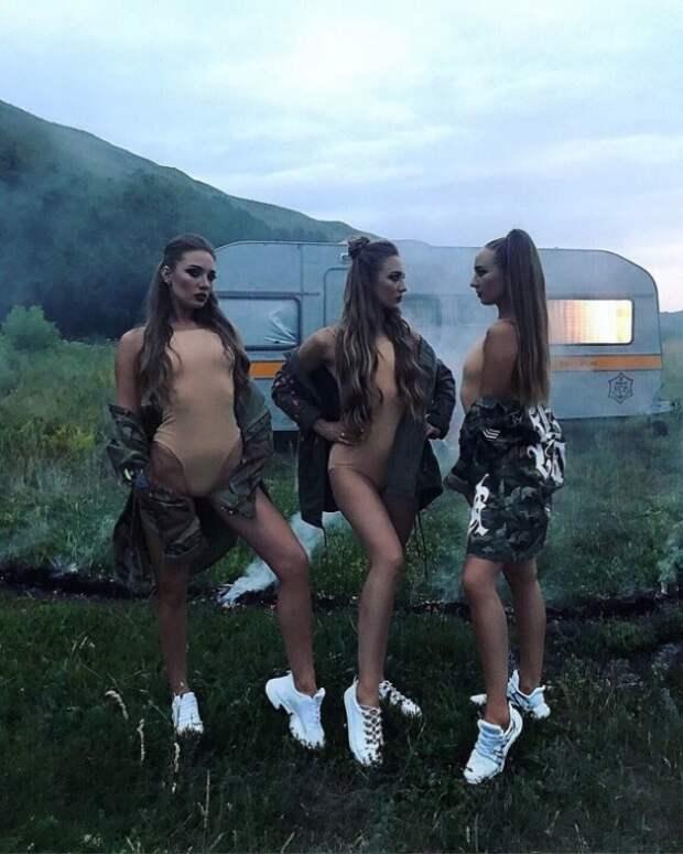 Сестры-тройняшки из Крыма снялись в клипе украинского хип-хоп исполнителя (ВИДЕО)