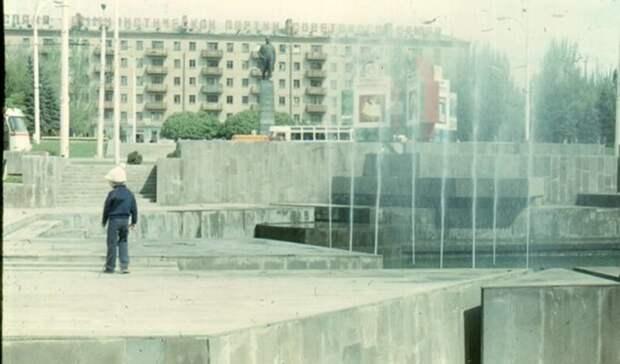 Восстановить фонтан на площади Ленина попросили ростовчане