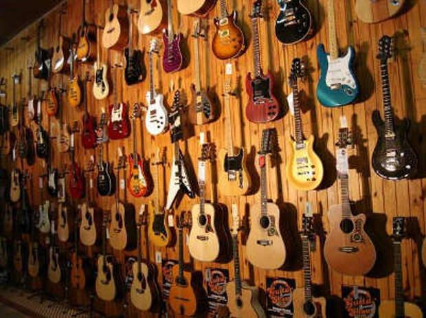 разновидности гитары