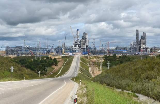 Строительство гигантского завода ГПЗ, который лишит Китай дополнительной выгоды