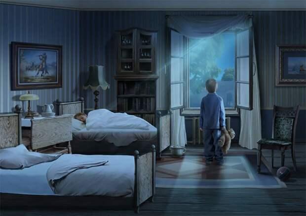 Ностальгия: Иллюстрации Натальи Ершовой