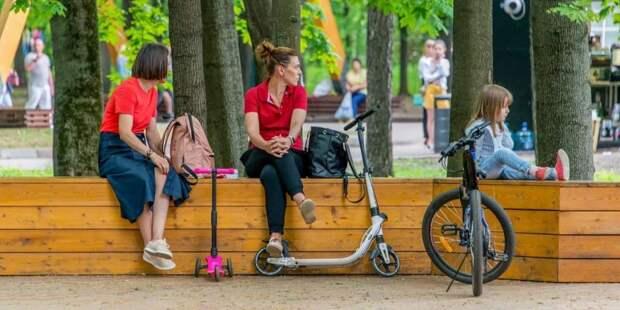 Собянин рассказал о благоустройстве Красной Пресни и Звенигородского шоссе/Фото: Ю. Иванко mos.ru