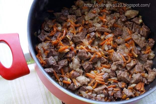 Картошечка, тушенная с мясом (как в д/садике)