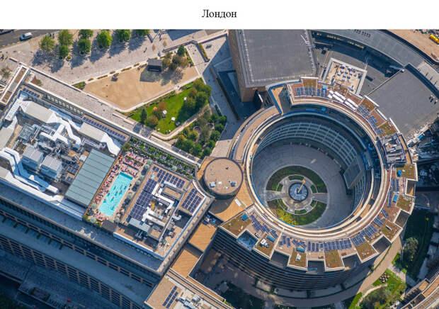 Великолепные воздушные кадры, показывающие связь человека с водой