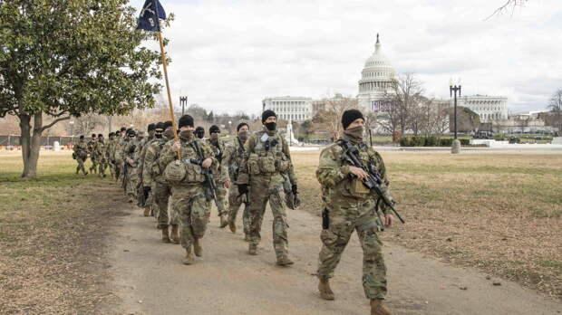 После инаугурации Байдена военных в Вашингтоне поселили в гараже