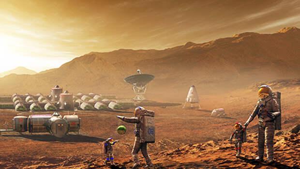 Как обустроить жизнь на Марсе