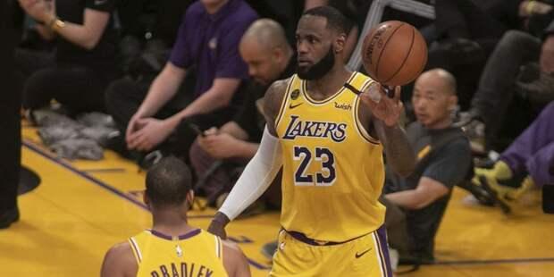 «Лейкерс» проиграл «Майами» в НБА